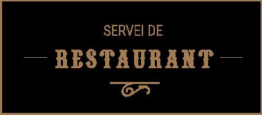 Servei de restaurant
